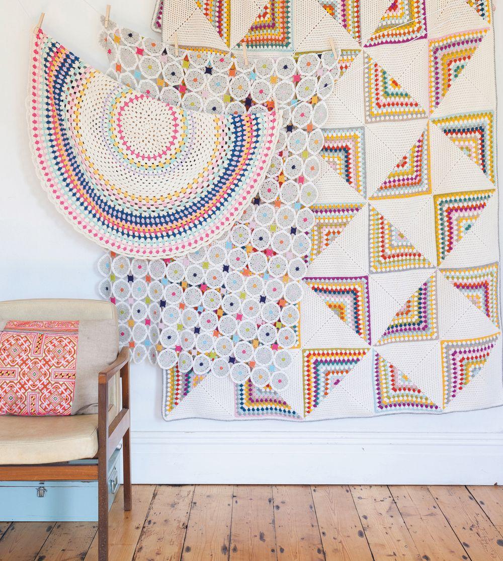 Blankets+from+Crochet+Home+by+Emma+Lamb.jpg (1000×1117) | Crochet ...