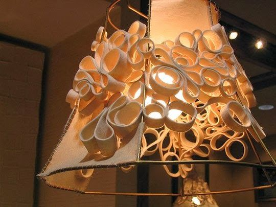Diy Lamp Shades Made From Junk Dare To Dream Diy Lamp