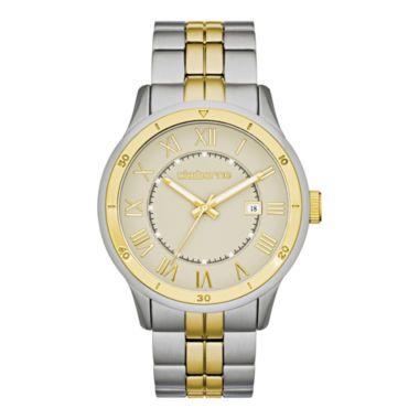 claiborne mens gray dial two tone bracelet watch found at claiborne mens gray dial two tone bracelet watch found at jcpenney