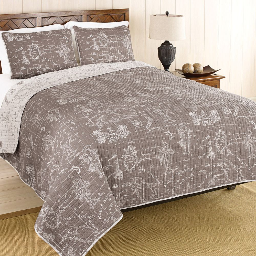 Tommy bahama map quilt tommy bahama home pinterest tommy tommy bahama map quilt gumiabroncs Gallery
