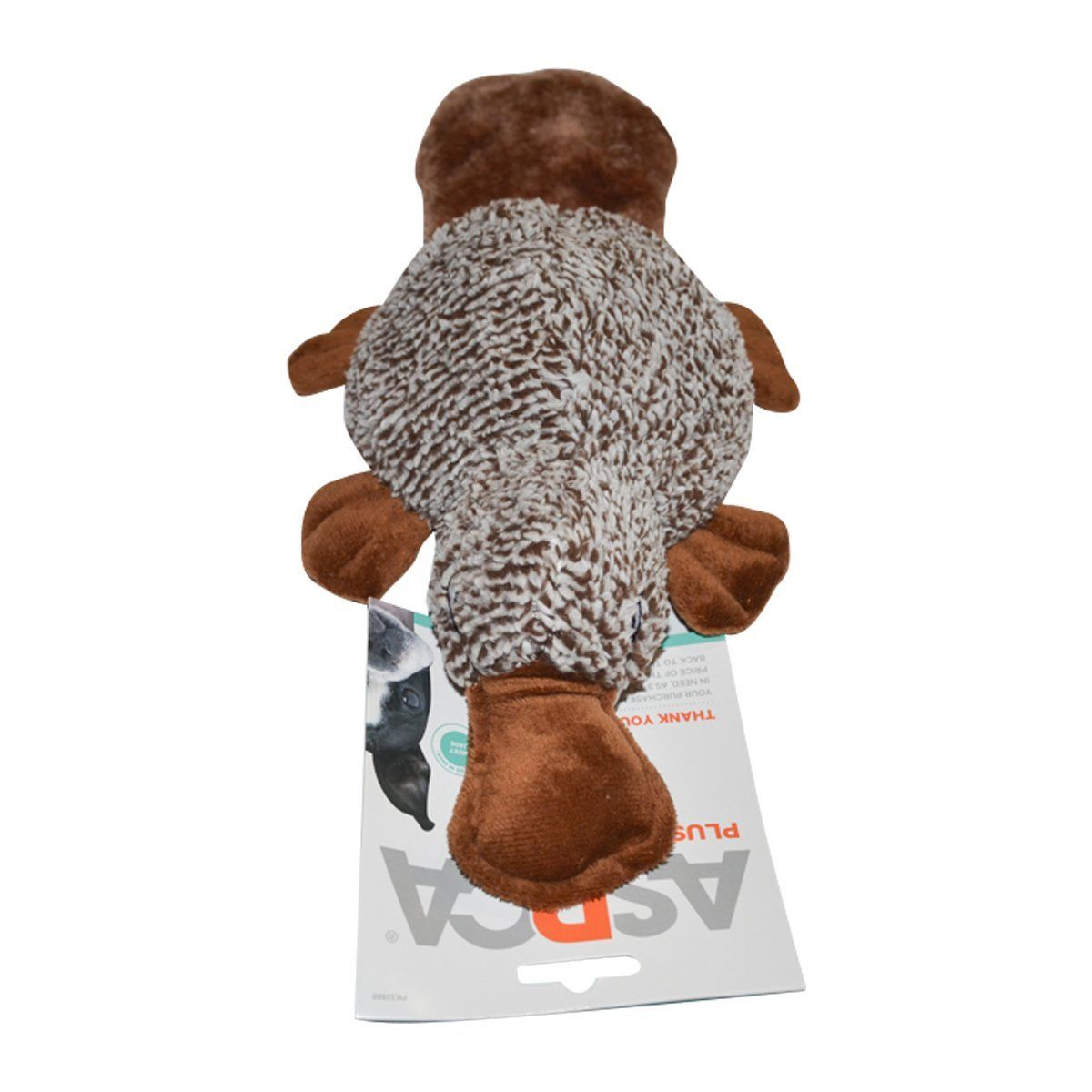 Aspca Dog Squeaky Chew Toy Platypus Find Out More About The