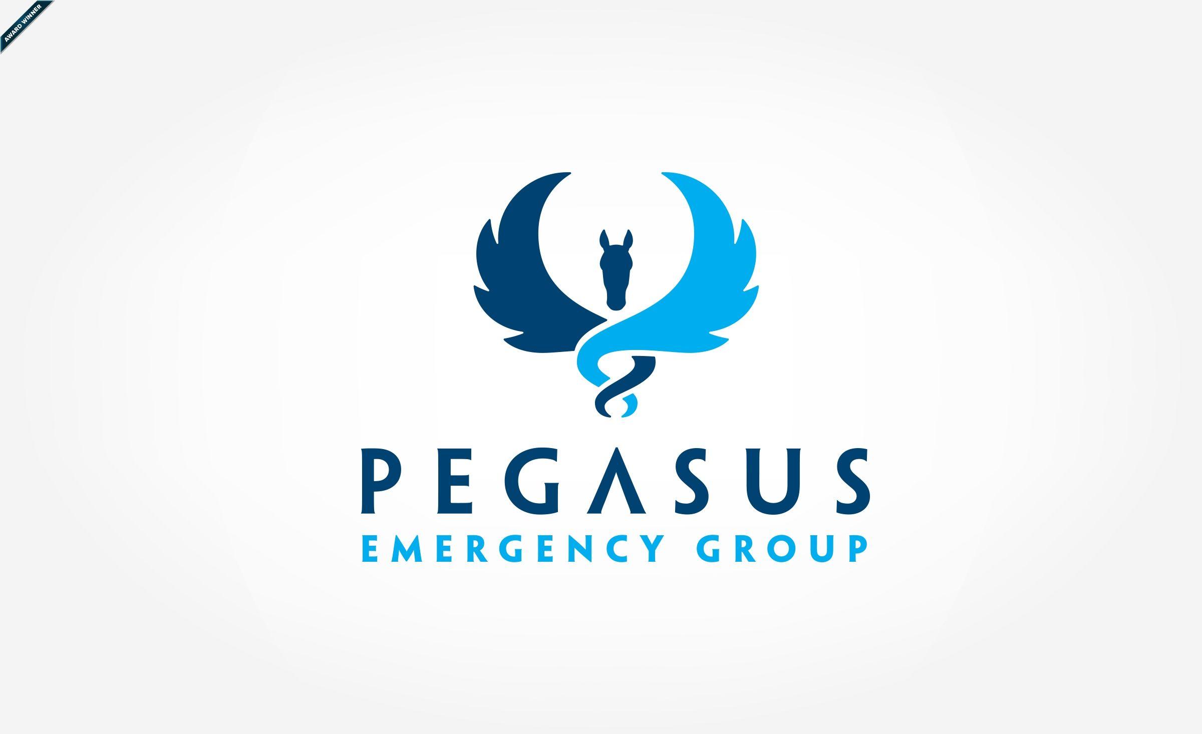 Pegasus Medical Logo | Knights & Horses | Pegasus logo ...