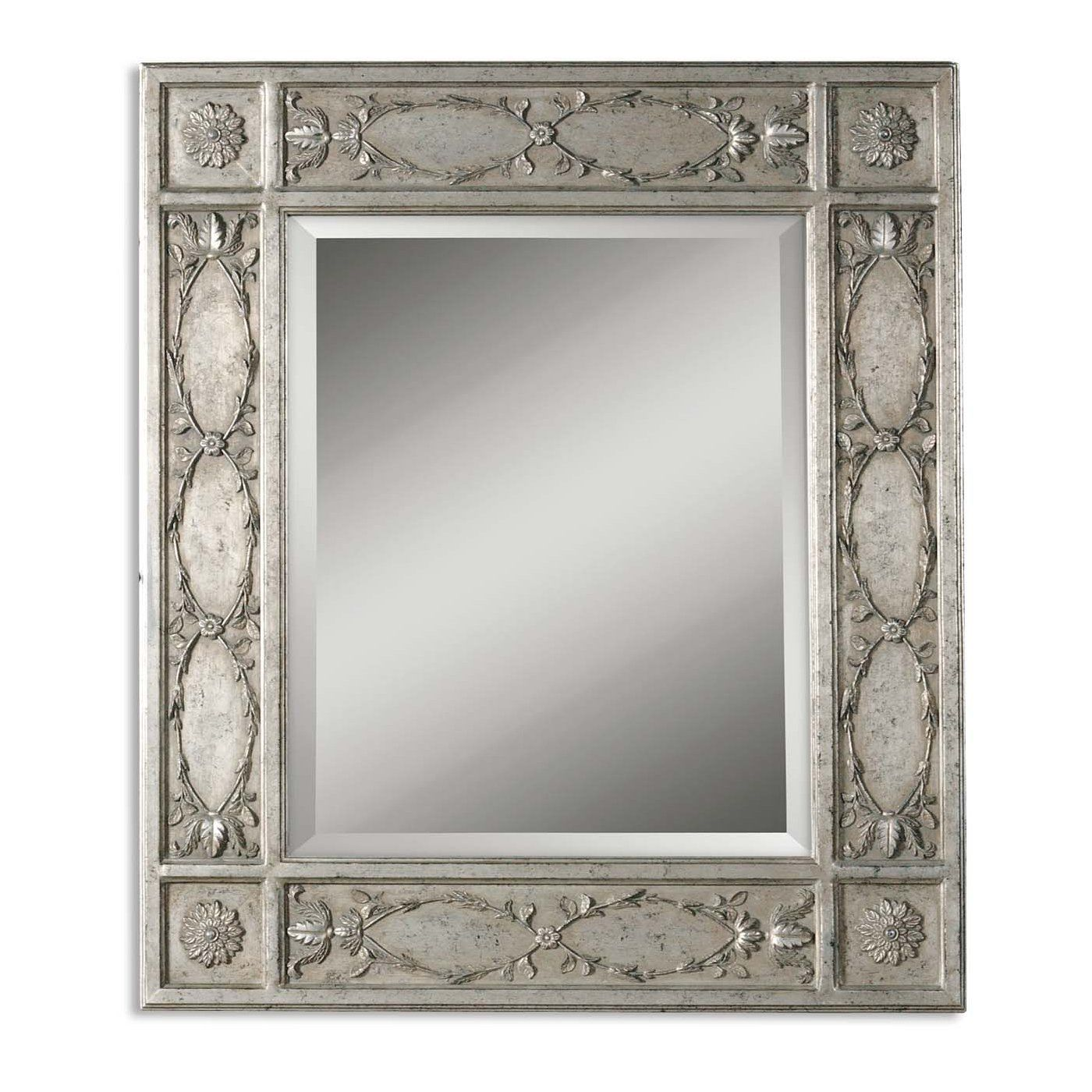 uttermost 05001 b kaylee wall mirror silver leaf mirror on lowes paint sale today id=47367