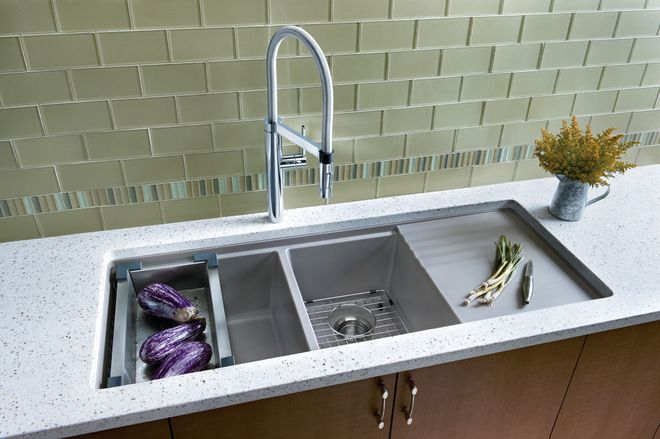 Built In Drainboard Love This Precis Sink 897 Granite