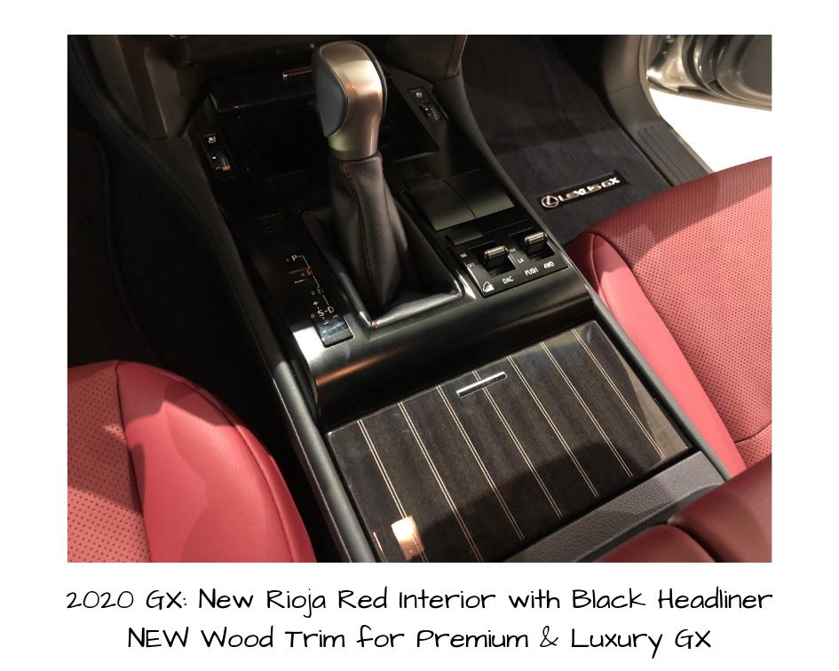 2020 Gx Design Details Design Details Lexus Gx Lexus Models