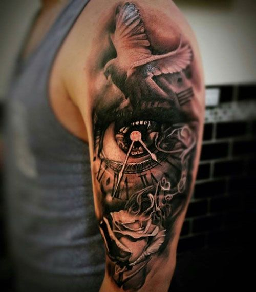 125 Best Half Sleeve Tattoos For Men Cool Ideas Designs 2020 Guide Half Sleeve Tattoos For Guys Cool Half Sleeve Tattoos Half Sleeve Tattoo