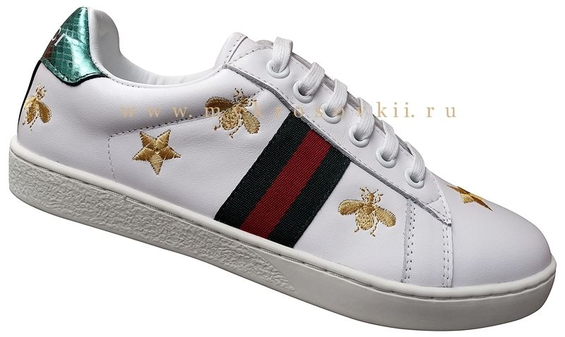 facb7451 Кроссовки(Кеды) Gucci женские белые   женские кроссовки - выбор ...