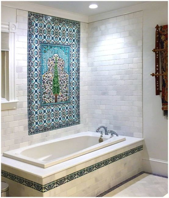 The one thing to do for bathroom tile murals Home Ideas