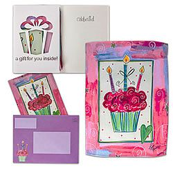 Celebrate Anything Card with Garden Flag #Birthday [ http://www.thegoodlifestore.com/store/index.php?main_page=product_info&cPath=238&products_id=5348#.U-o6dfldVUU ]