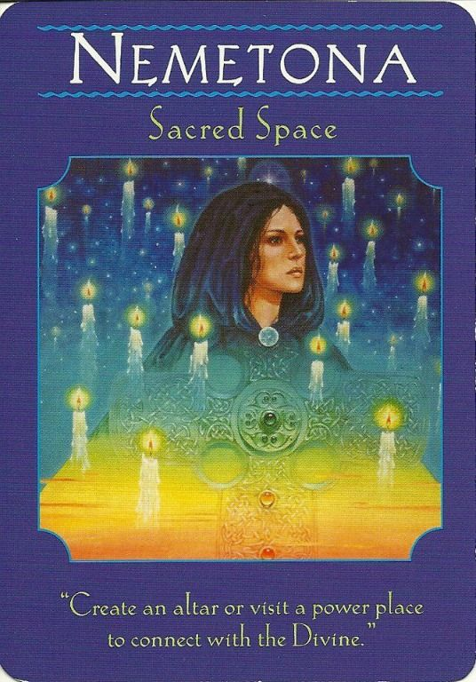 Nemetona Goddess Guidance Oracle Cards Doreen Virtue Just Mary