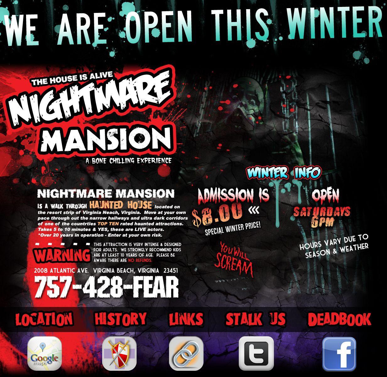 Nightmare Mansion Virginia Beach Va Virginia Beach Mansions Virginia