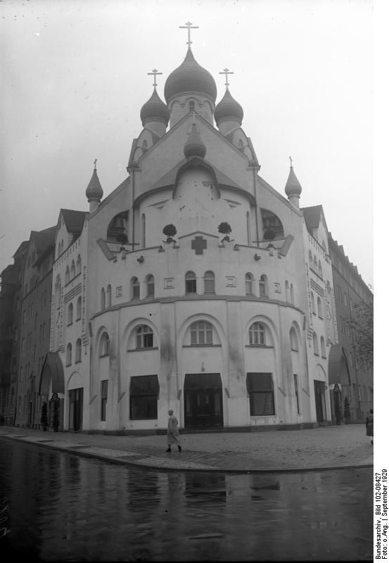 1929 Berlin Russische Kirche