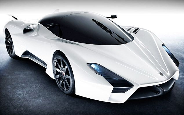 Shelby Supercars Tuatara    7.0L twin turbo V8 good for roughly 1350hp,