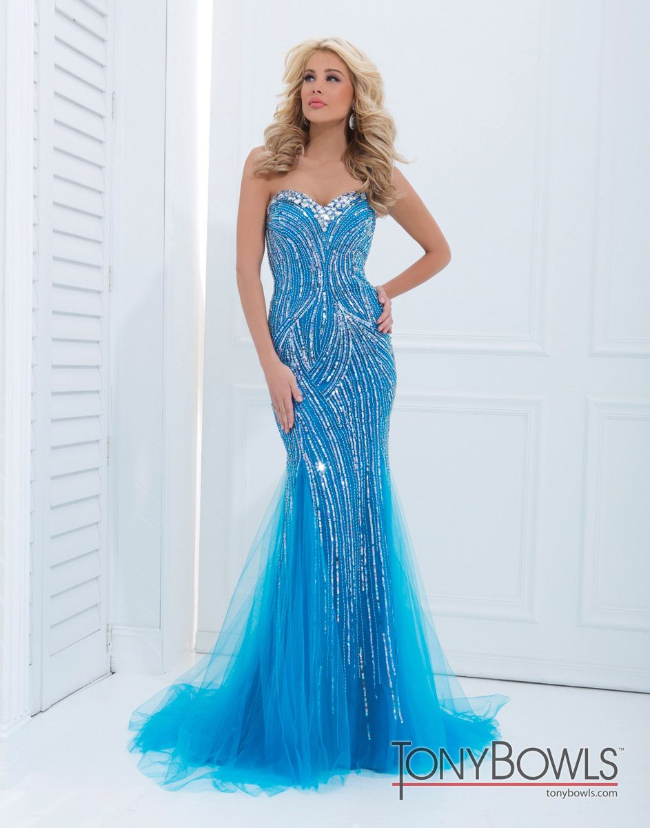 Tony Bowls Paris Dress 114719 | Terry Costa Dallas | Prom dresses ...