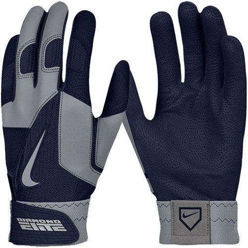 Nike Batting Gloves Orange: Nike Men's Diamond Elite Pro II Batting Glove