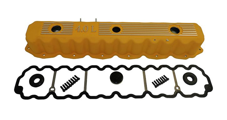 Red Aluminum Valve Cover Kit  for Jeep Wrangler Cherokee Grand Cherokee RT35002