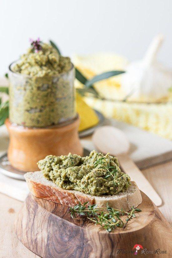 Rezept zucchini aufstrich vegan
