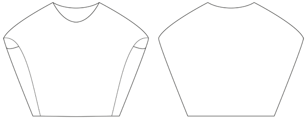 Schnittmuster Shirt Forli- www.schnittquelle.de - einfache ...