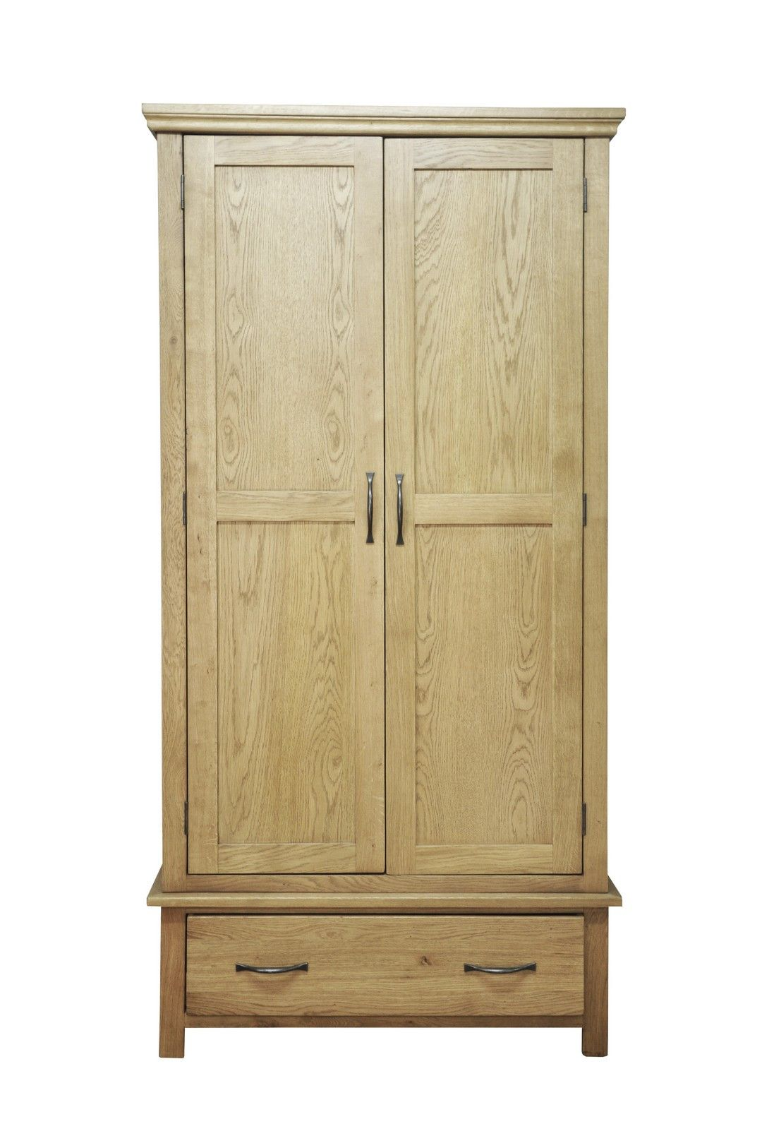 Http Www Bonsoni Com Wrexham Light Oak Finish Gents Double Wardrobe By Kaldors This Gents Double Wardr With Images Oak Bedroom Furniture Wardrobe Furniture