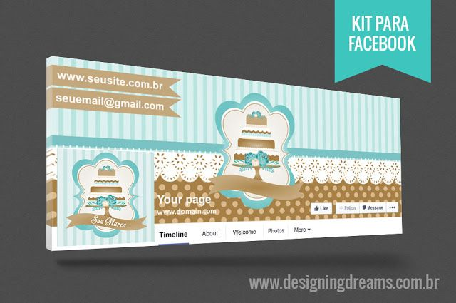 Identidade Visual Cake design