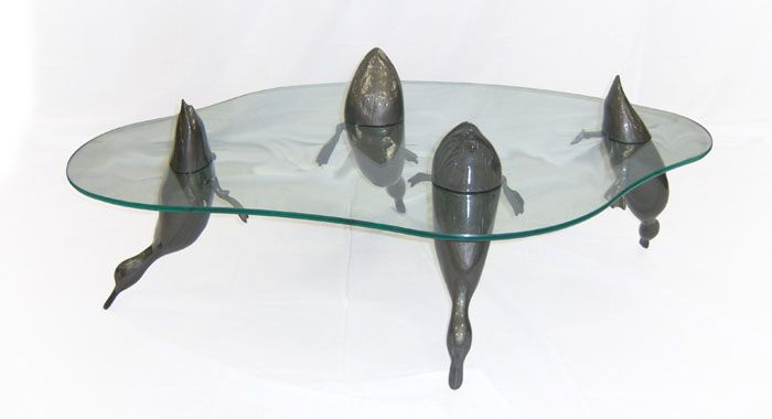 Buy Water Tables by Derek Pearce: Hippo Table, Animal Tables