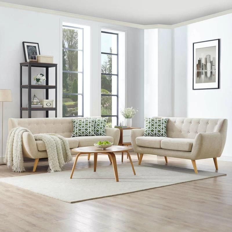 Meggie 2 Piece Living Room Set Living Room Sets Modern Style Living Room Living Room Sets Furniture