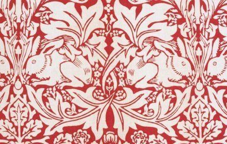 Fireplace Kitchen Red Arts /& Crafts William Morris Brer Rabbit Tiles