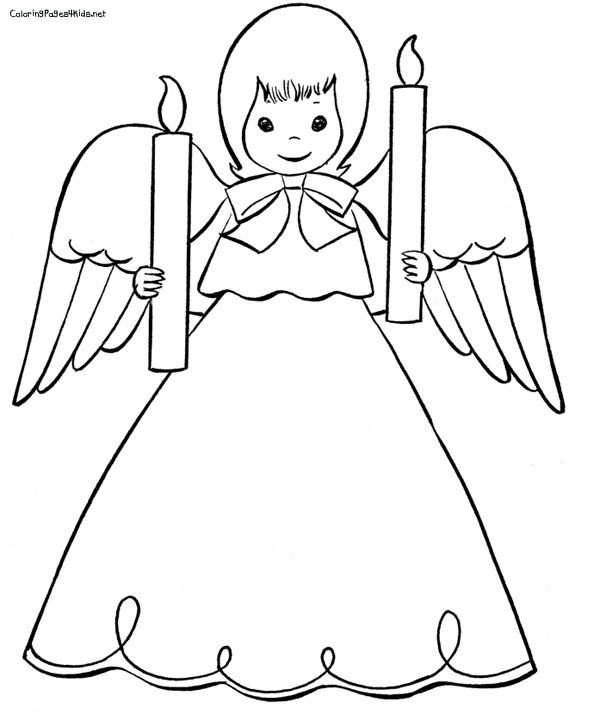 Christmas Angel Coloring Page Angel Coloring Pages Christmas Angels Coloring Pages