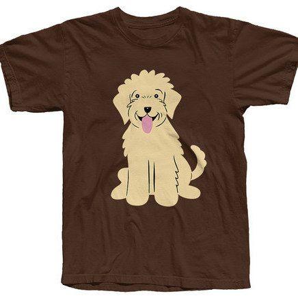 Doggie Tops Goldendoodle Buy Dog Food Online T Shirt