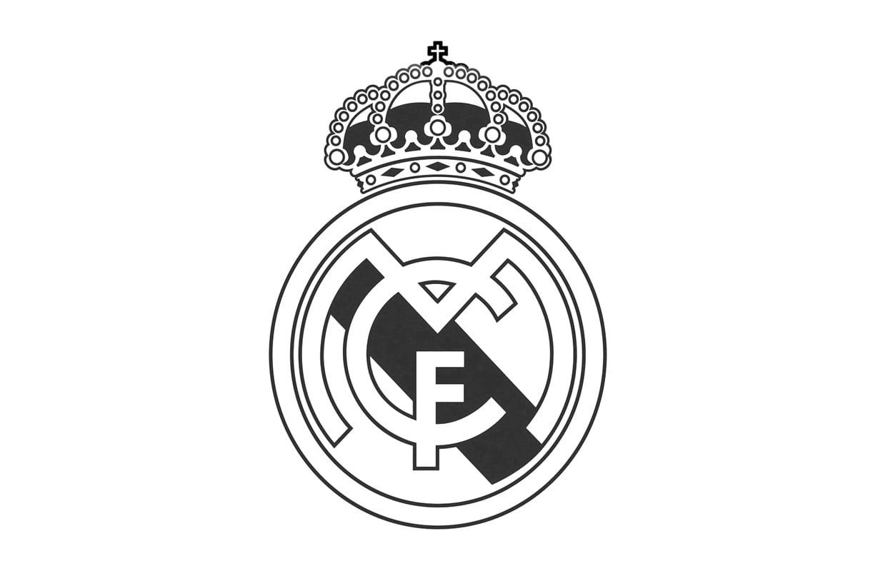Real Madrid Logo Real Madrid Soccer 480p Wallpaper Hdwallpaper Desktop Real Madrid Logo Real Madrid Wallpapers Real Madrid