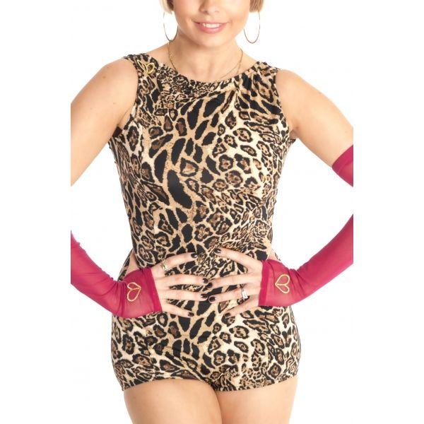 Frida Bodystocking/Leopard