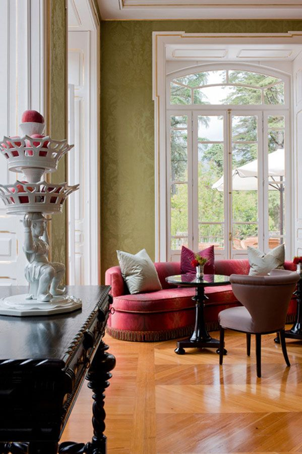 Damask Living Room Decor: De Gournay: Our Collections