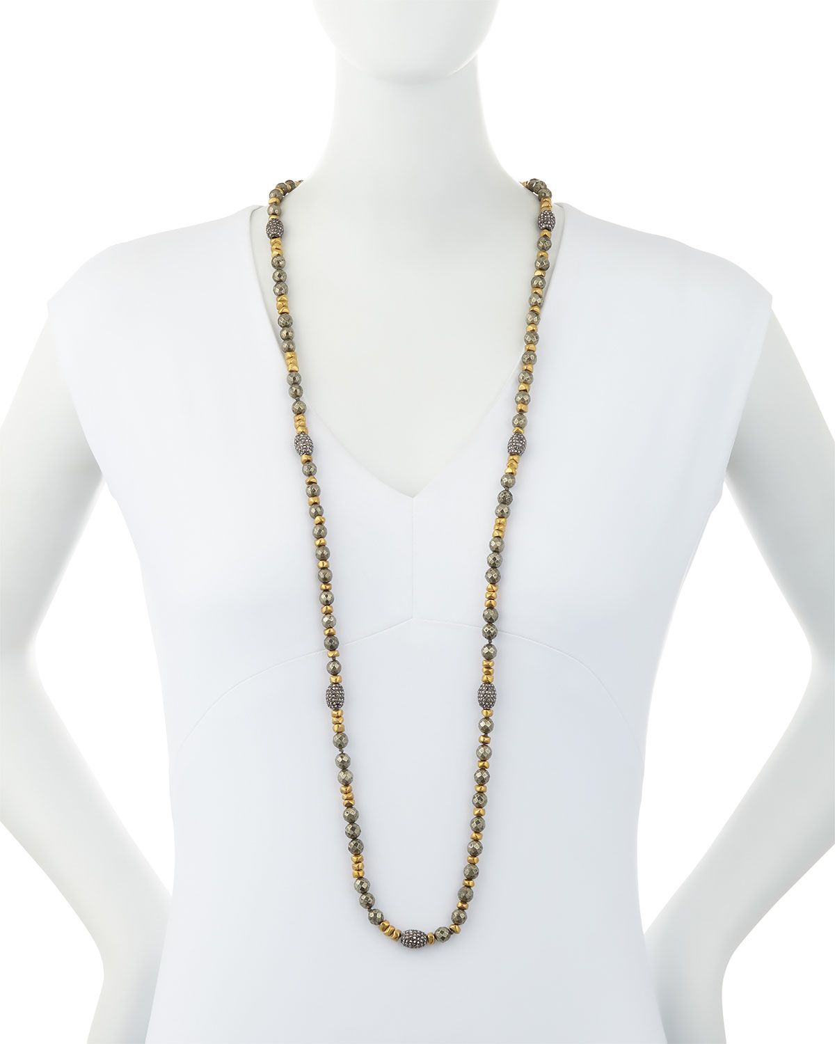 Hipchik ava pyrite u golden nugget necklace golden nugget ava and