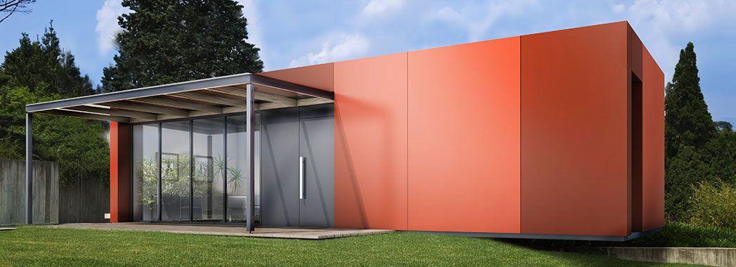 Russ Holzbau russ modulbau living modul leichtigkeit genießen tolle häuser