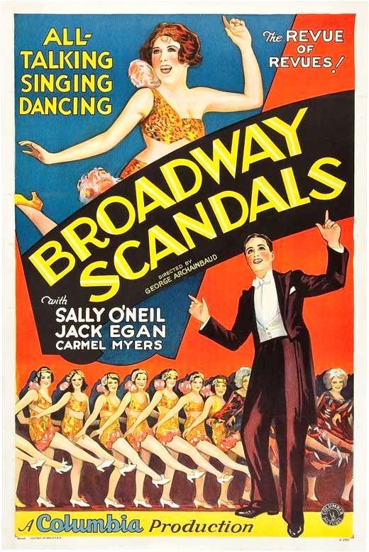 vintage movie poster 1929 broadway