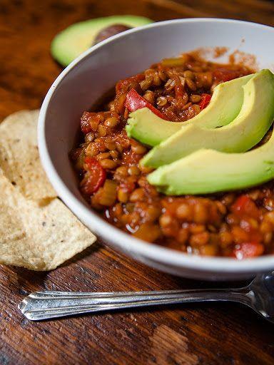 Vegan Lentil Chilli Recipe on Yummly. @yummly #recipe