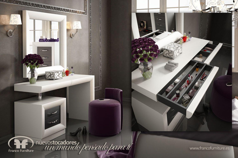 Tocador de dise o perteneciente a la nueva linea de for Fabricantes de muebles para estetica