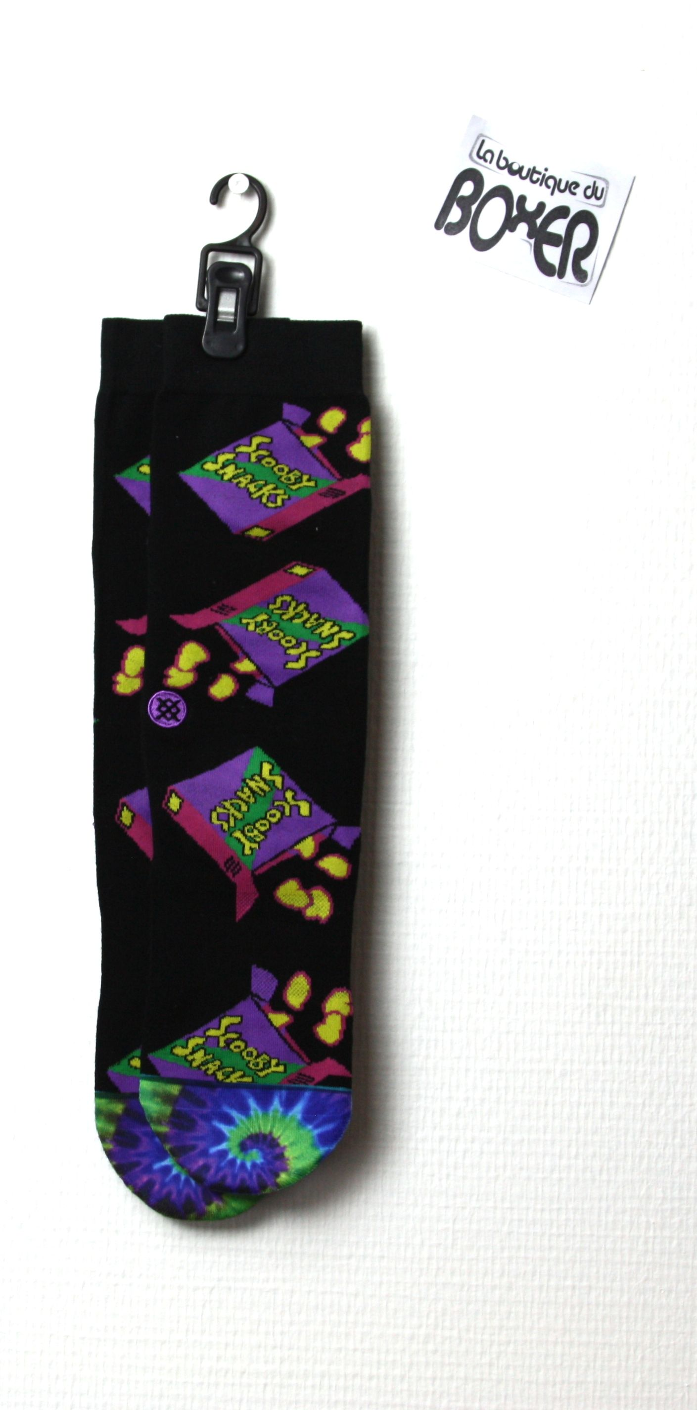 Stance Homme Scooby Doo Scooby Snacks Chaussettes Noir
