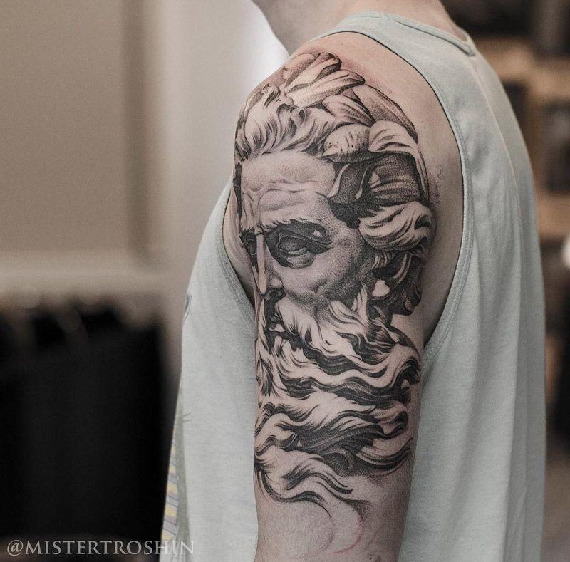 Neptune arm tattoo tattoos pinterest tatoo brao brao e tatoo neptune arm tattoo altavistaventures Gallery