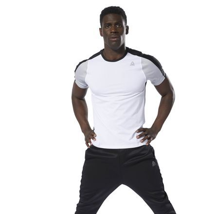 53ccee0c0d Training SmartVent Move Tee in 2019   Products   White reebok, Mens ...