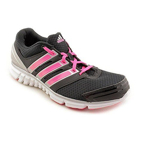 ADIDAS WOMENS SIZE 7 SILVER PINK RUNNING CROSS TRAINING SHOES