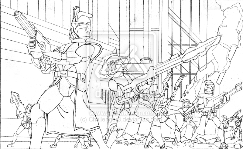 Image Result For Shadow Troopers Coloring Page Trooper Coloring Pages Clone Commandos