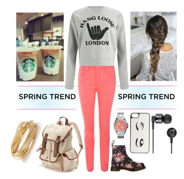 Graphic Sweatshirts by emilynn on Polyvore featuring YMC, Jane Norman, Dr. Martens, Candie's, The Limited, FOSSIL, Kate Spade and Nixon