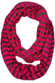 Tessa Striped Loop Scarf-- I can't decide which color I like best!!