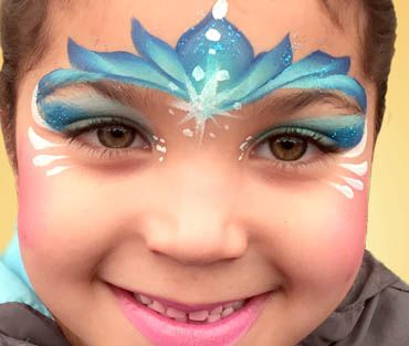 Professional Face painting in CT face painter | Face painting ...