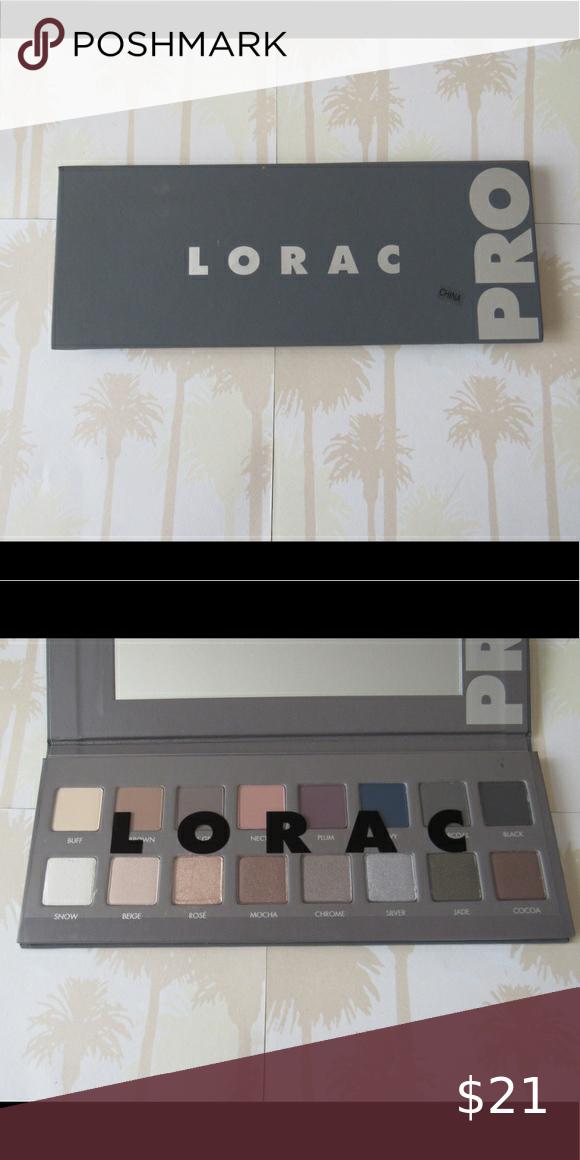 Lorac Pro Palette in 2020 Lorac pro palette, Lorac pro