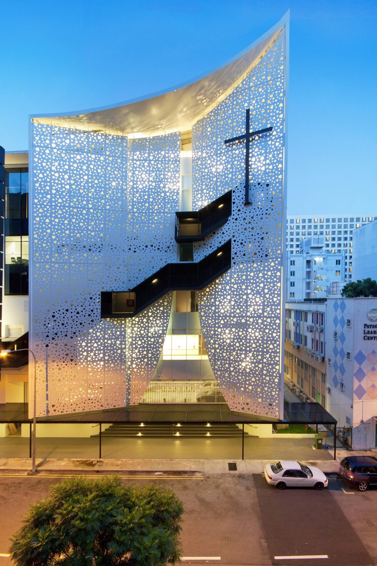 laud architects project singapore life church
