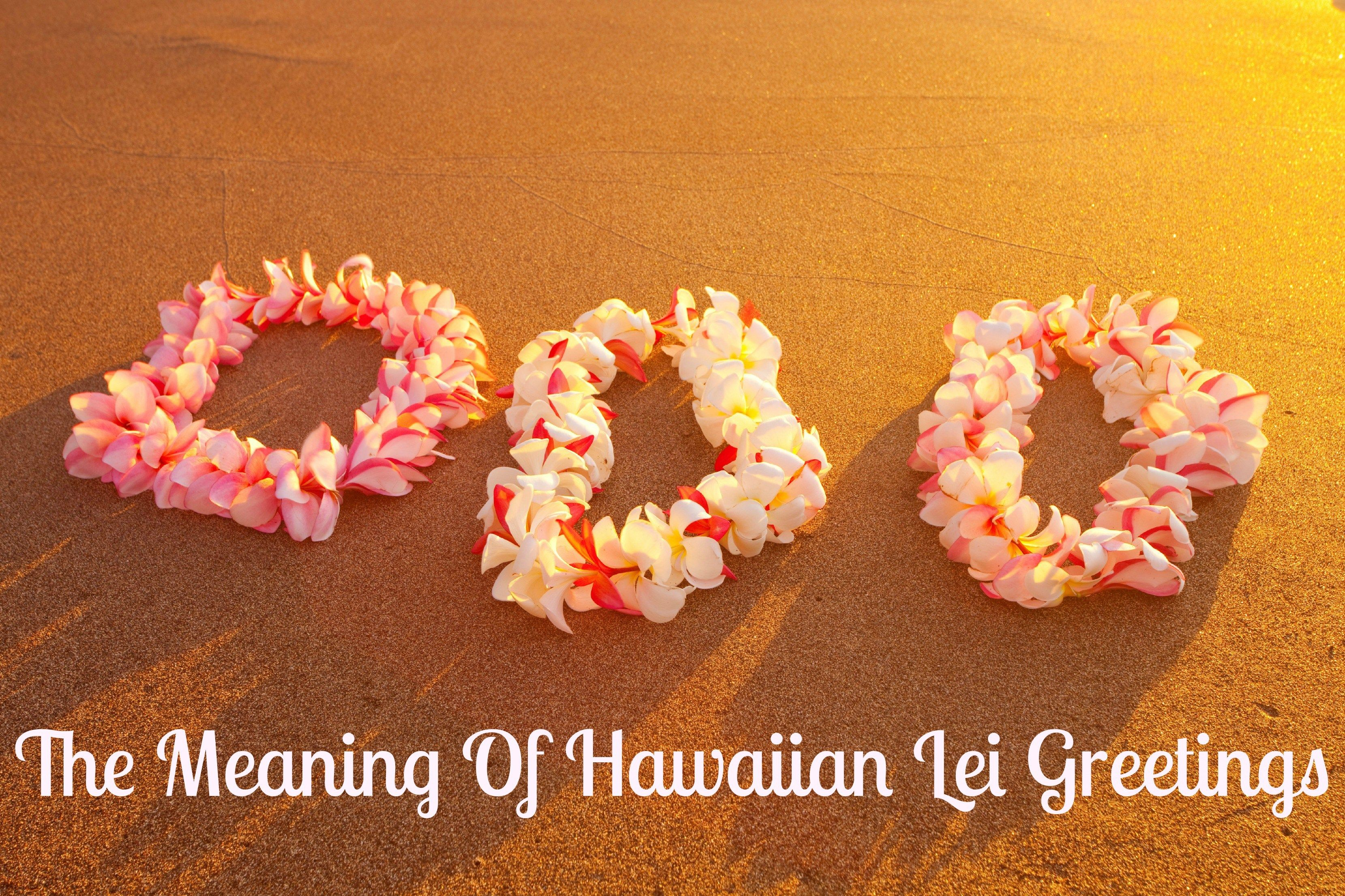 Leis Traditionally Express Love Reverent Respect Congratulations