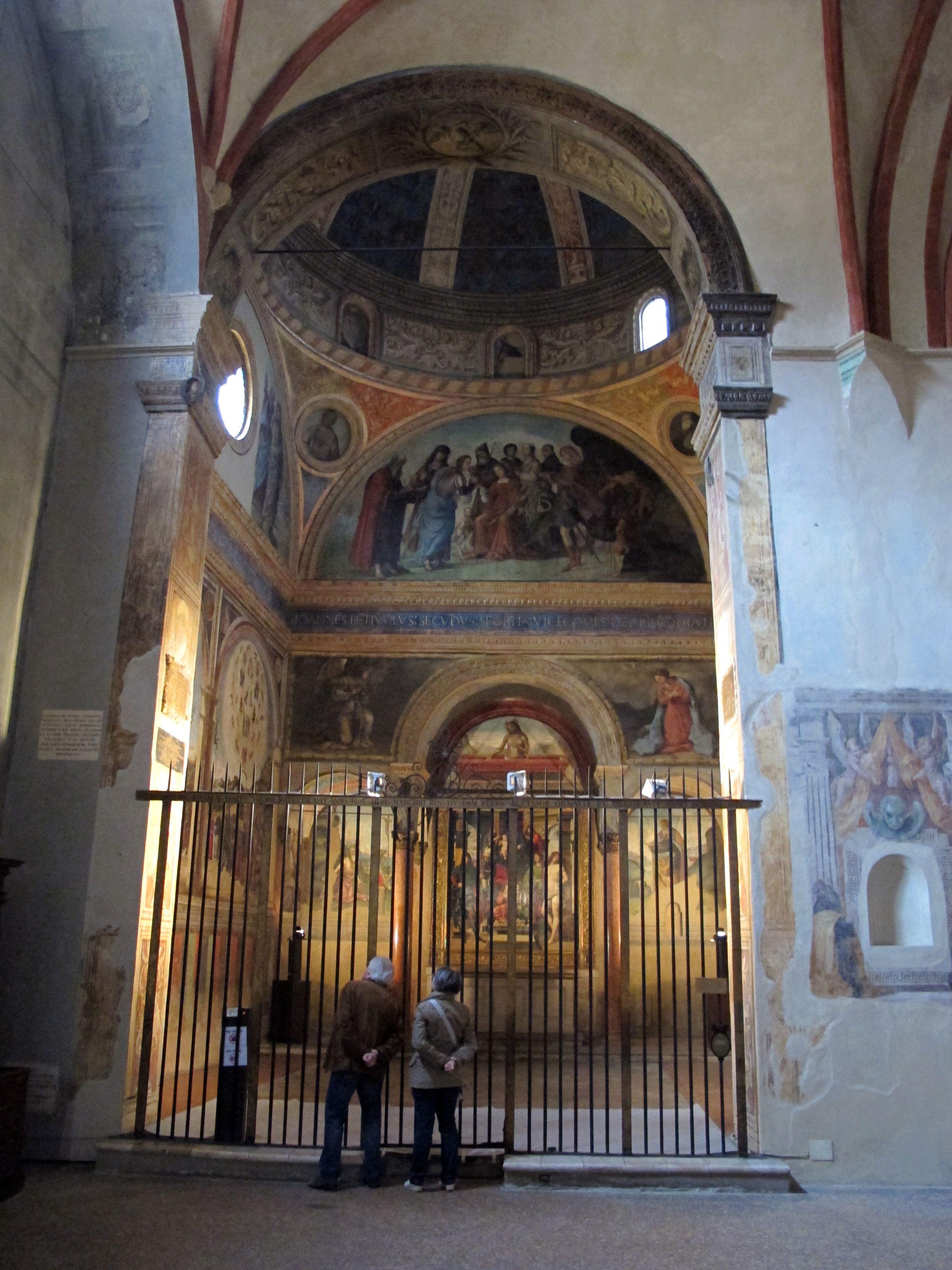 Cappella Bentivoglio, chiesa di San Giacomo Maggiore a Bologna ...