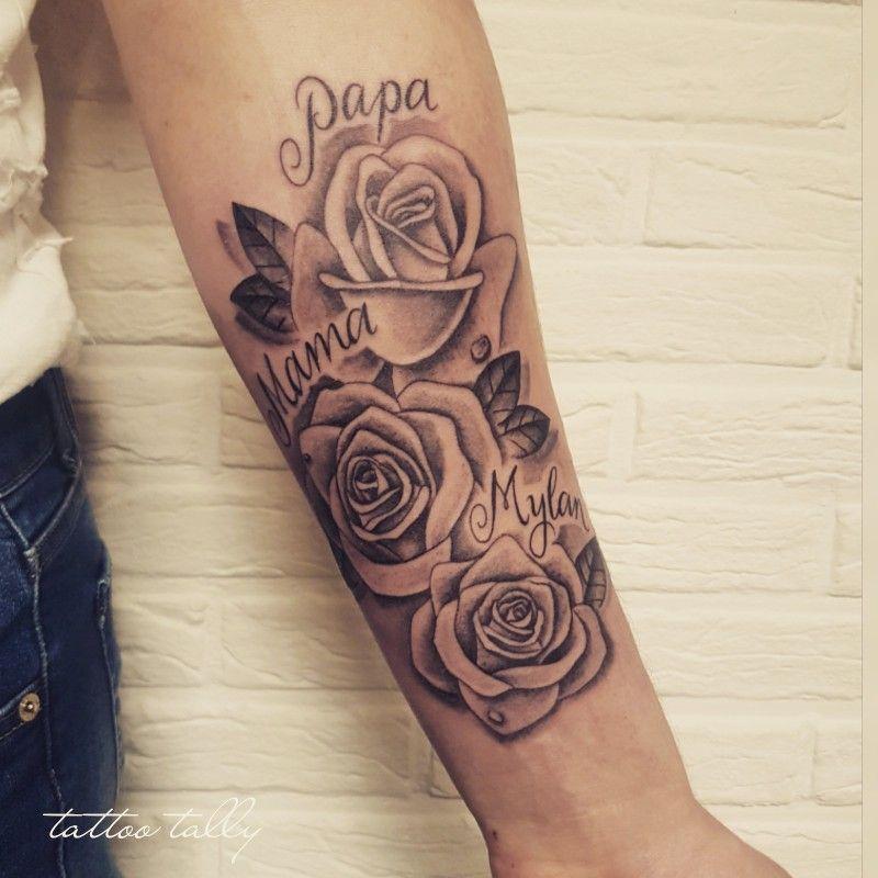 Photo of Roses tattoo